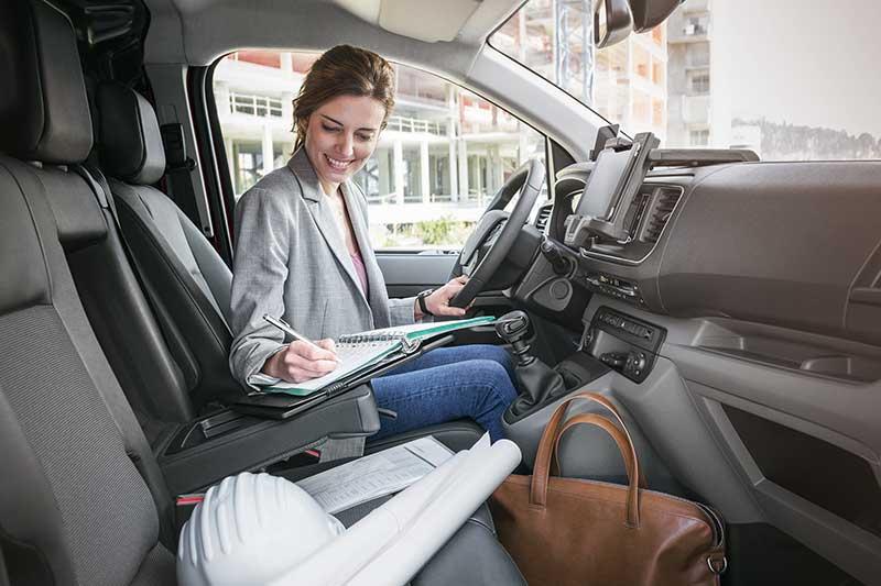 haz de tu Citroën Jumpy tu propia oficina